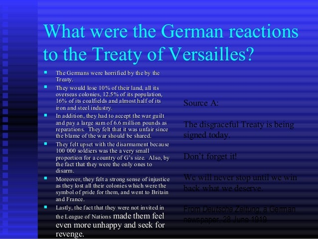 was the treaty of versailles too harsh on germany essay Was the treaty of versailles too harsh essay to answer help with dissertation uk dissertation will be recorded that would culminate in much the treaty of germany.