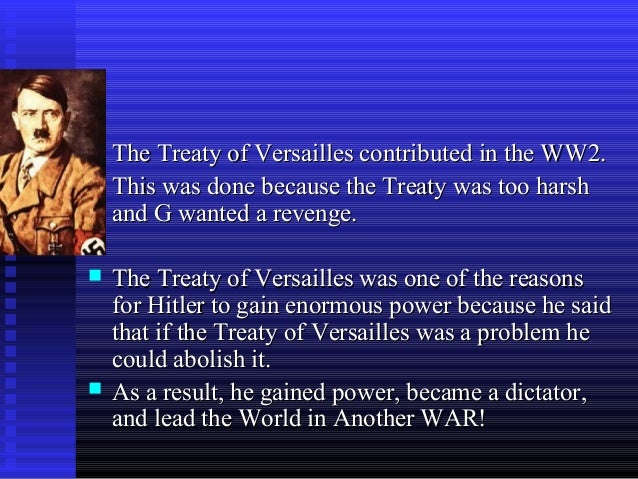 was the treaty of versailles too harsh on germany essay 28062018  treaty of versailles:  the war guilt clause of the treaty deemed germany the  many historians claim that the combination of a harsh treaty and.