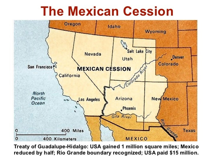 HIS LU Was The US Mexican War An Act Of American Imperialis - Map of us and mexico 1846
