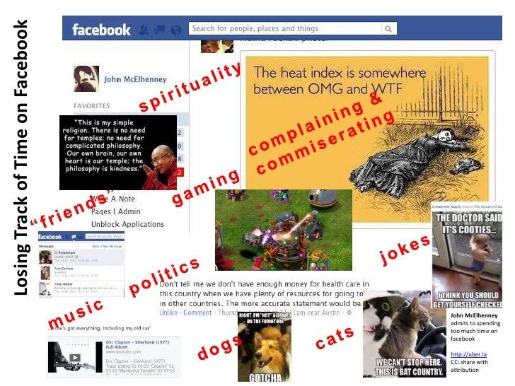 Losing Track of Time on Facebook                                   John McElhenney                                   admit...