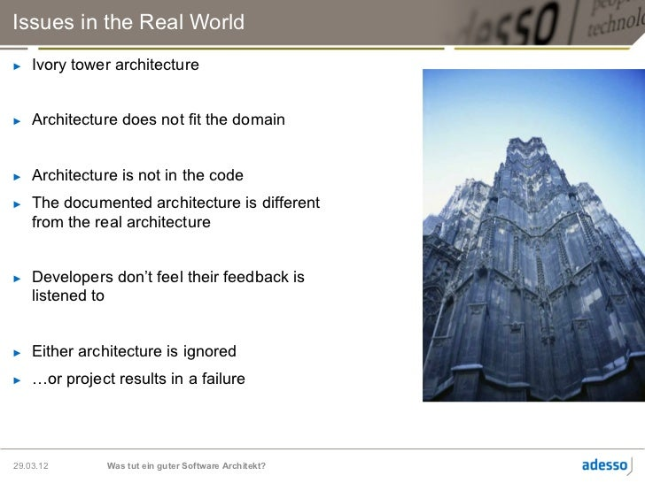 how to become a good software architect