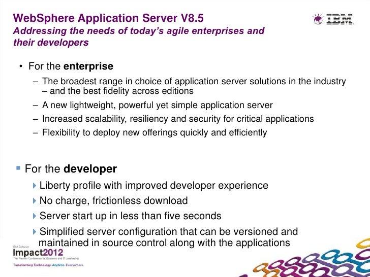 Websphere Application Server V8 5
