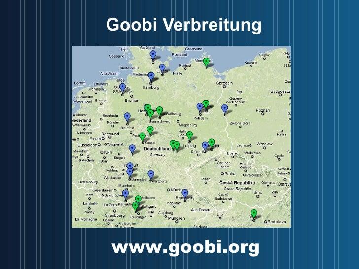 Goobi Verbreitung www.goobi.org