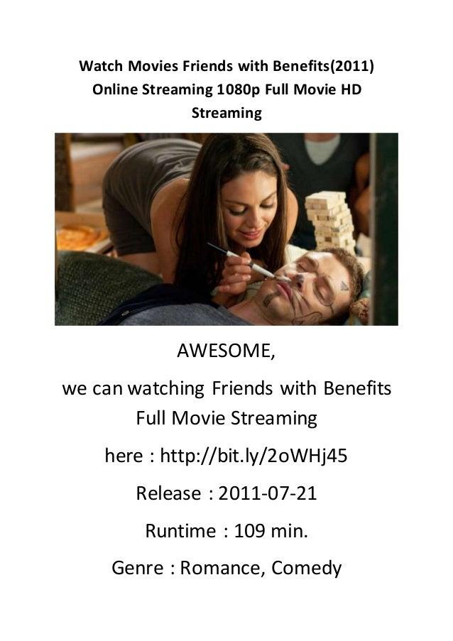 Friends with benefits online stream