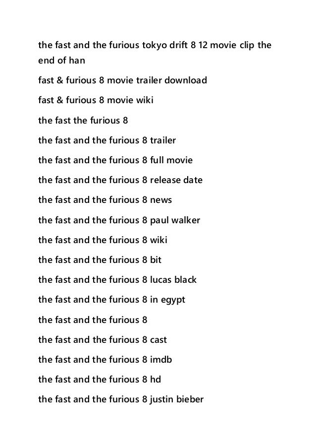 Watch The Fate The Furious 2017 Full Movie Hd Streaming Online 4