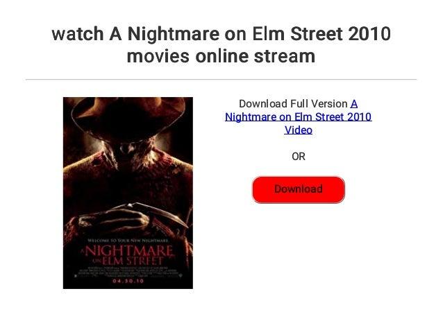 A Nightmare On Elm Street 2010 Stream Deutsch