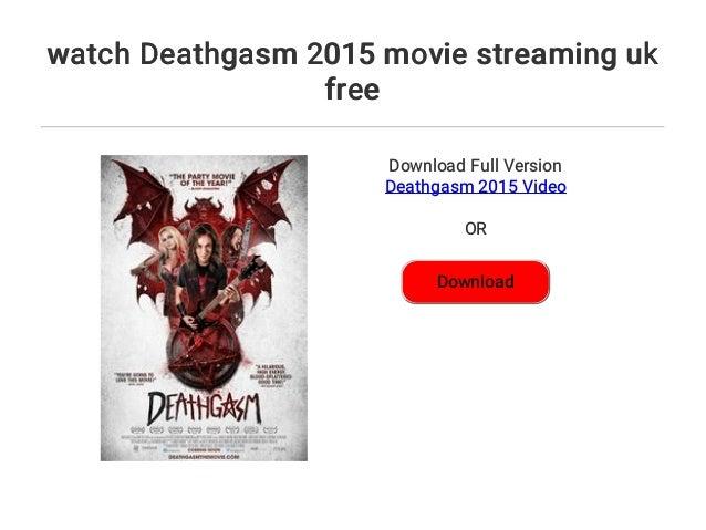 Deathgasm Stream Deutsch