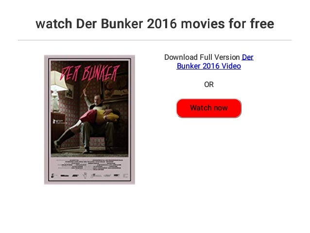 Watch Bukowski 2015 Full Movie Online Free Download