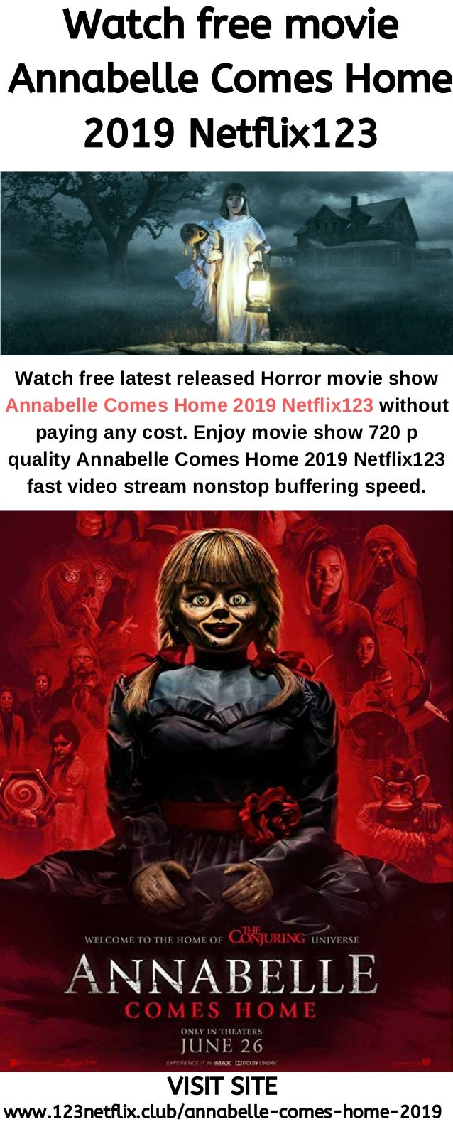 Watch Free Movie Annabelle Comes Home 2019 123netflix