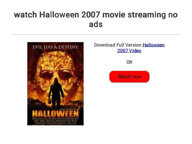 Halloween 2007 Stream Deutsch