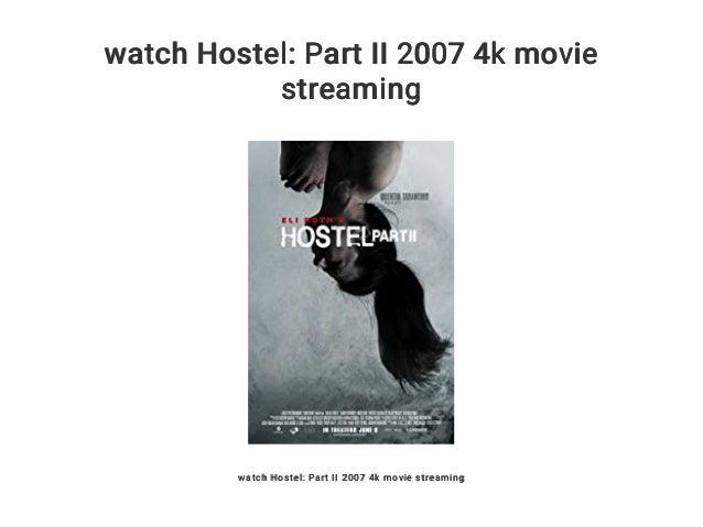 Hostel 1 Stream