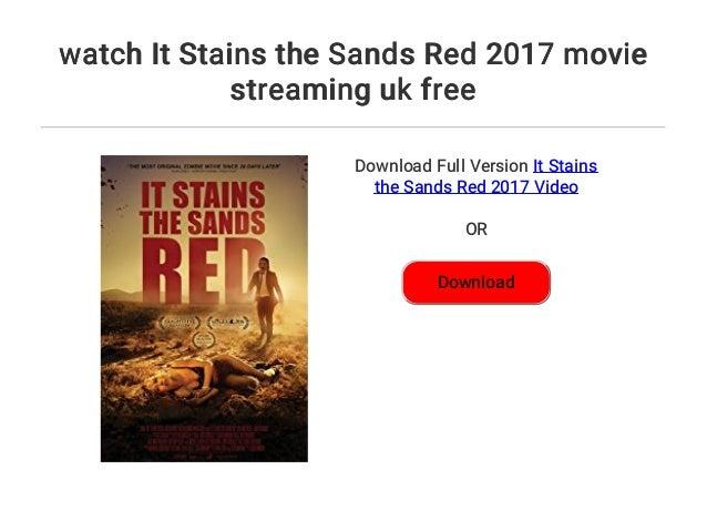 It Stains The Sands Red Stream Deutsch