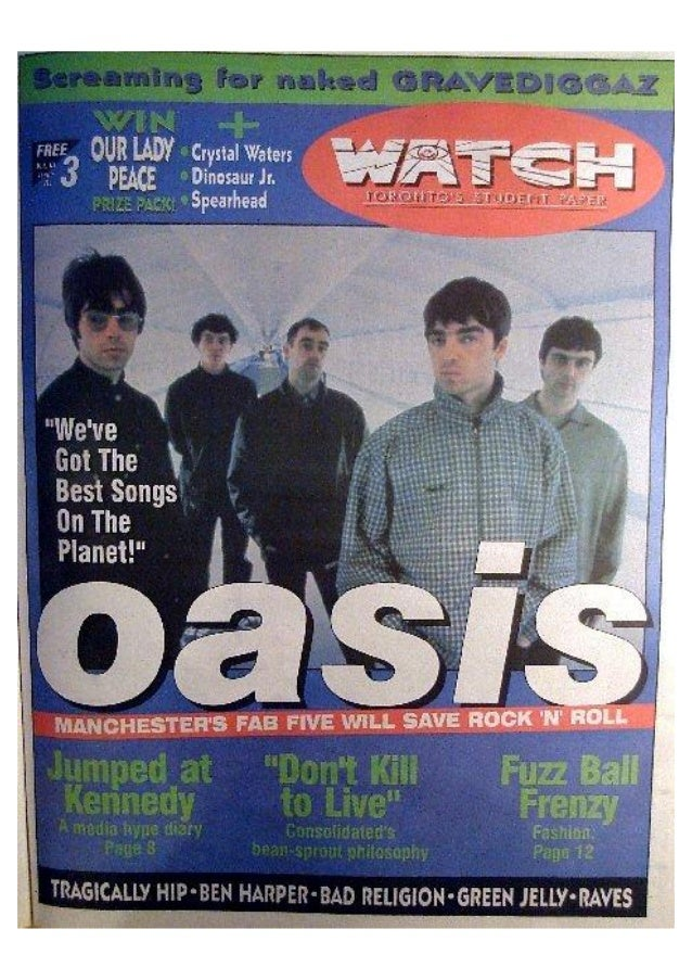 Watch Magazine Covers and Features 1994