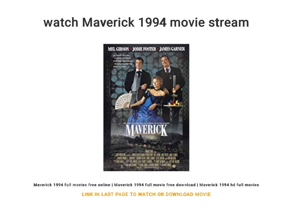 maverick full movie free