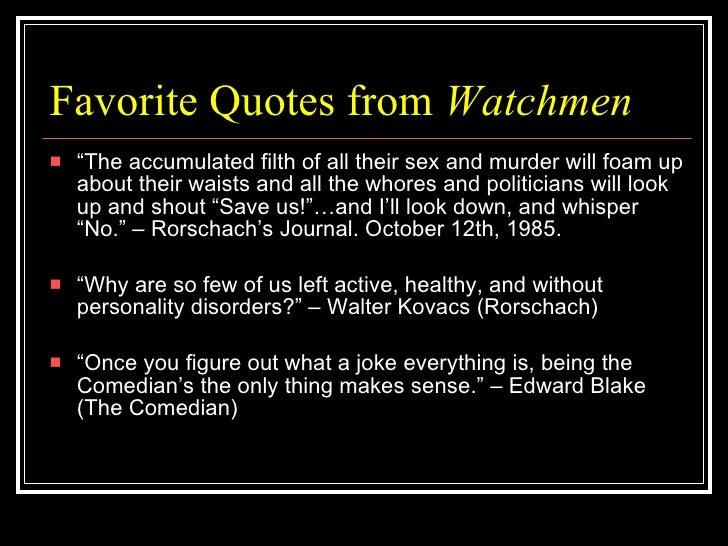 Watchmen rorschach quotes ill whisper no