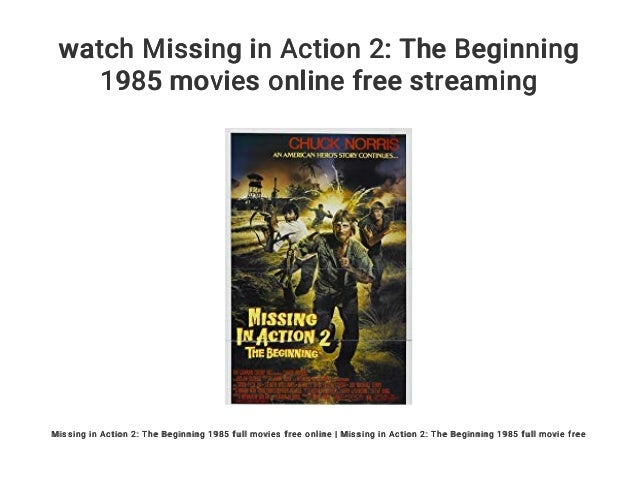Missing In Action Stream