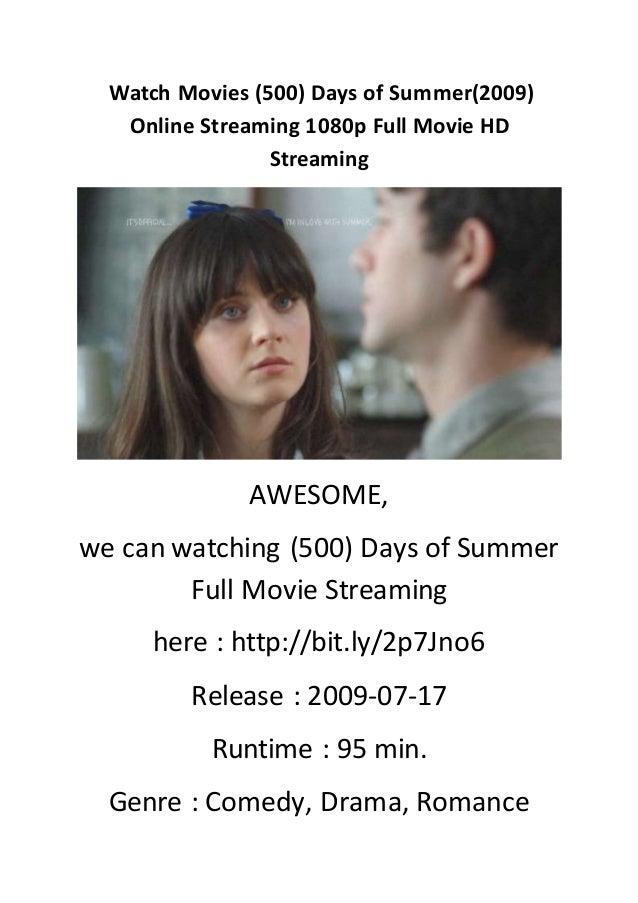 500 Days Of Summer Stream