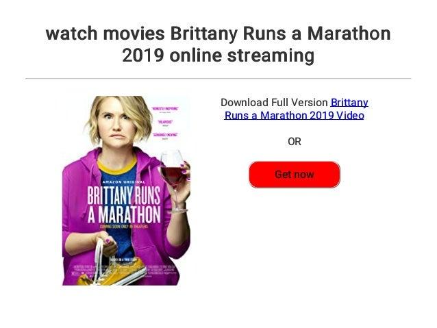 Brittany Runs A Marathon Stream