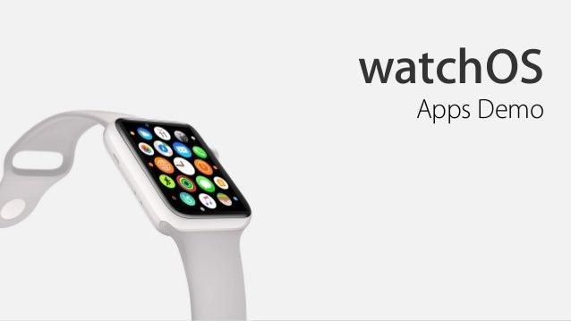watchOS Apps Demo