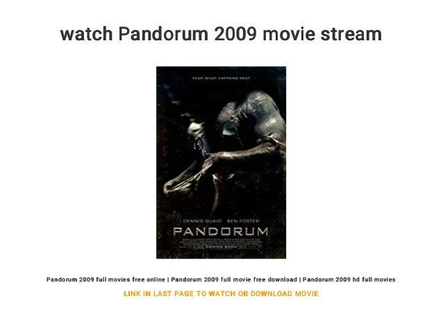 Pandorum Stream