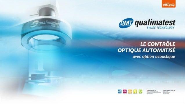Appareils de mesure QMTProjector | 1