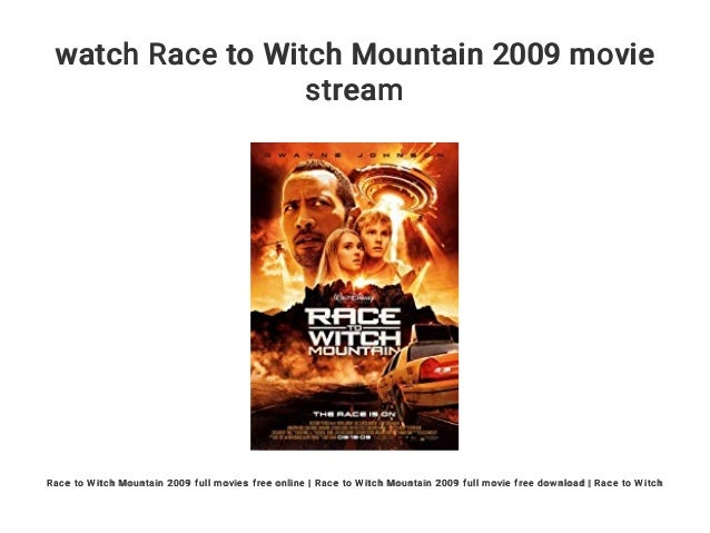 Race to witch mountain wikipedia.