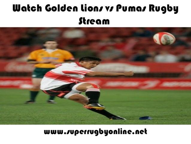 Watch Golden Lions vs Pumas Rugby Stream www.superrugbyonline.net