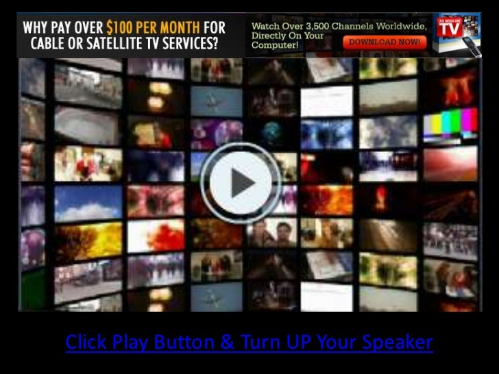 Click Play Button & Turn UP Your Speaker<br />