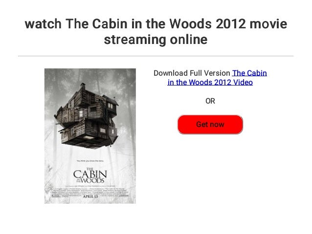 the cabin in the woods movie watch online