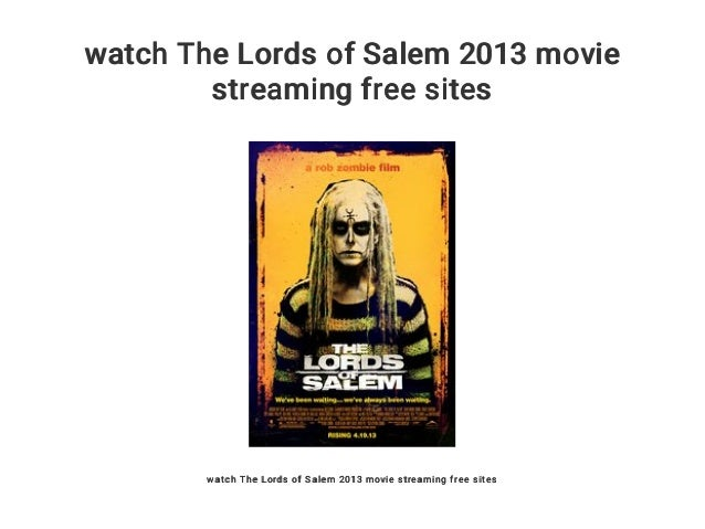 lords of salem full movie stream