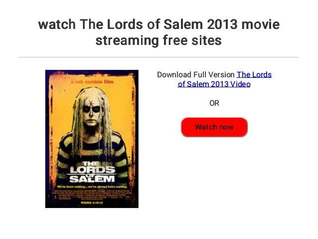 lords of salem stream