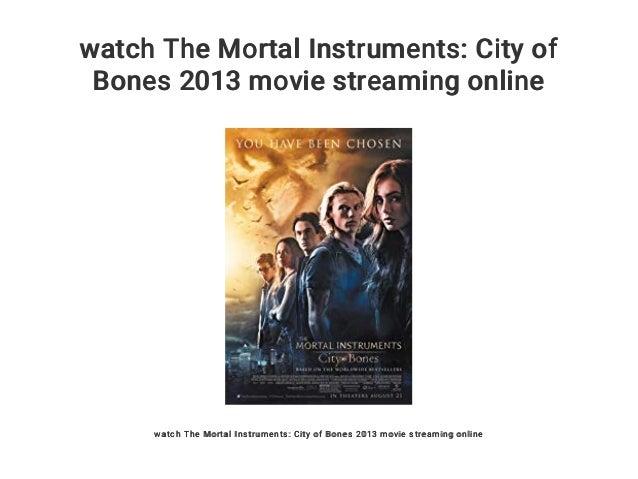 City Of Bones Online Stream