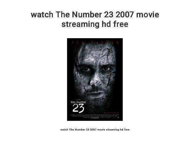 Number 23 Stream German