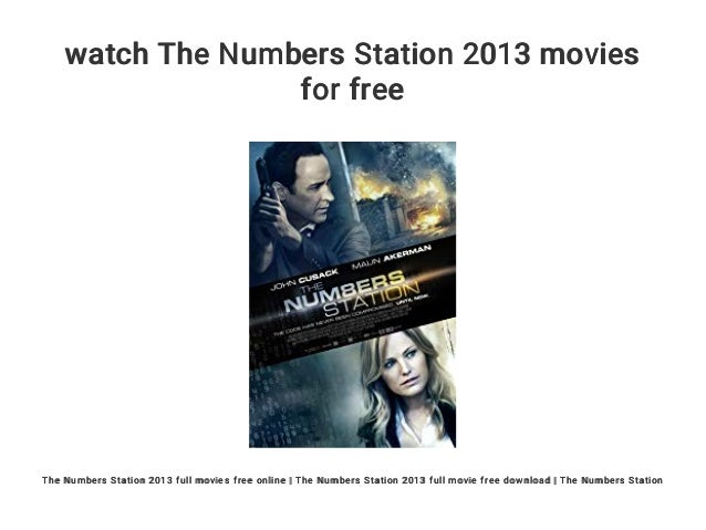 the numbers station movie download