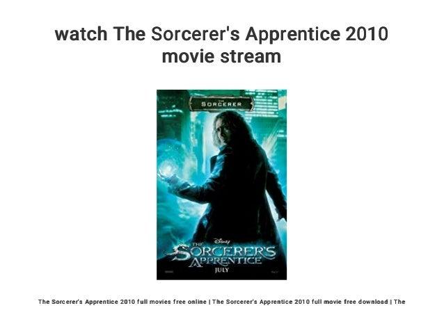 Watch The Sorcerer S Apprentice 2010 Movie Stream