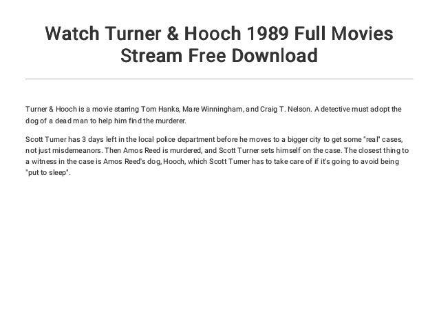 Watch Turner & Hooch 1989 Full Movies Stream Free Download Slide 3