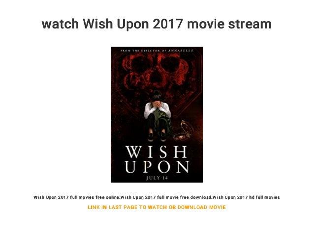 wish upon 2017 full movie online free