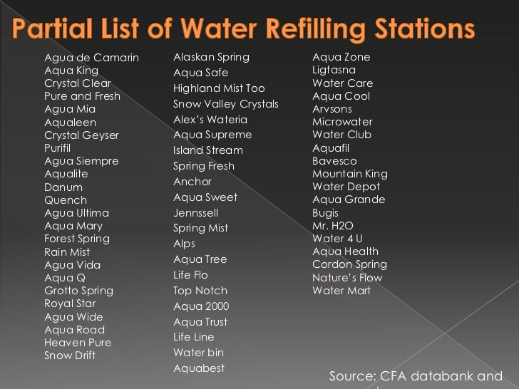 water refilling station and its process Home » hr and career articles » how to start a water refilling station how to start a water refilling station  water refilling stations are among the most.