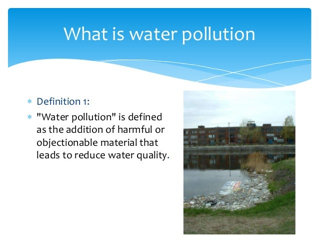 water pollution term paper Term paper contents: term paper on the introduction to air pollution term paper on the basic air pollution facts term paper on the causes of air pollution.