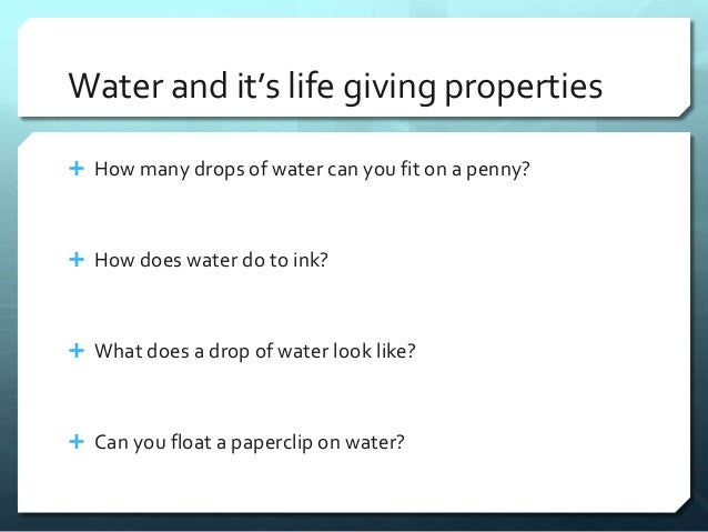 Worksheets Properties Of Water Worksheet ap biology properties of water and its life giving properties