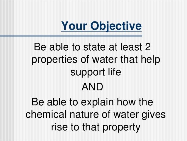ap biology properties water Ap biology 2009 free-response questions form b the college board among its best-known programs are the sat , the psat/nmsqt and the advanced placement program discuss three properties of water (b.