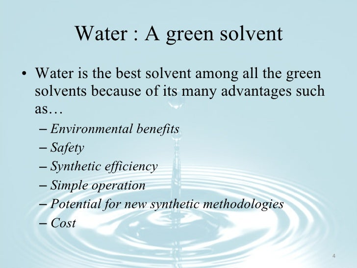 Why Is Water the Universal Solvent  thoughtcocom