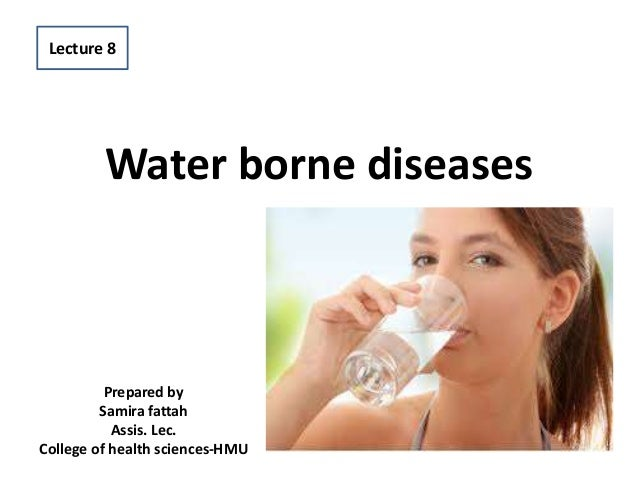 Water borne diseases Prepared by Samira fattah Assis. Lec. College of health sciences-HMU Lecture 8