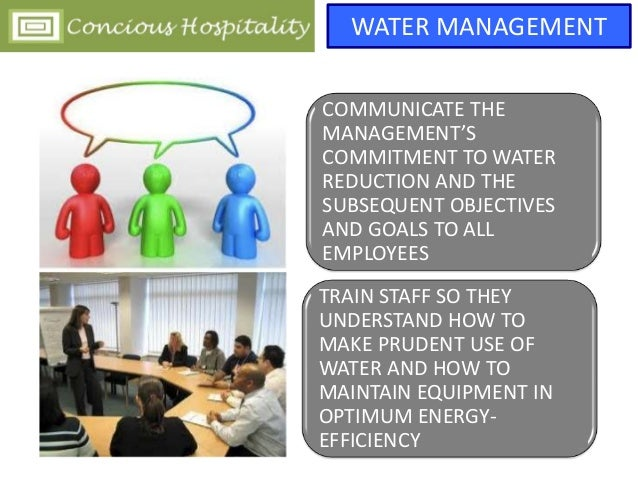 Water Management And Efficiency In Hospitality