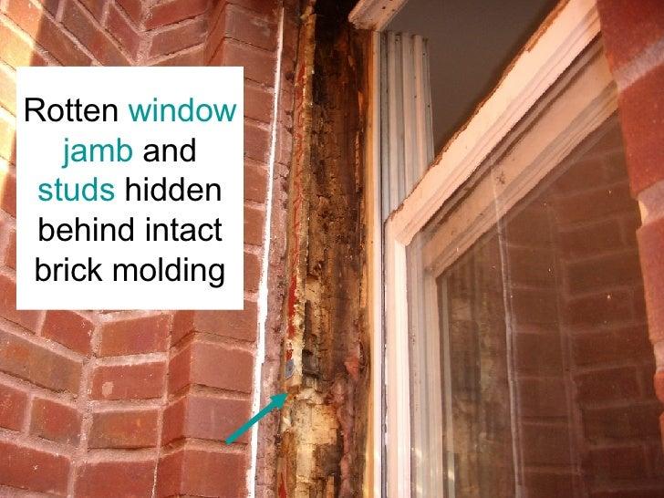 Water Damaged Window