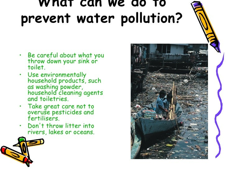 the problem of water pollution facing the earth