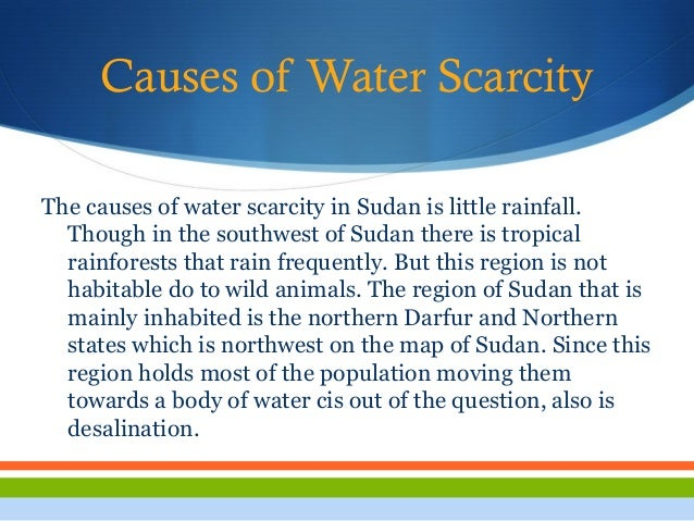 cause of water shortage