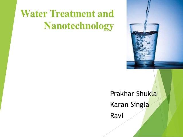 Water treatment-and-nanotechnology