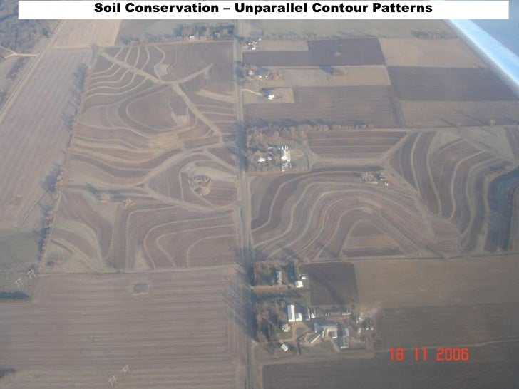 Soil Conservation – Unparallel Contour Patterns<br />