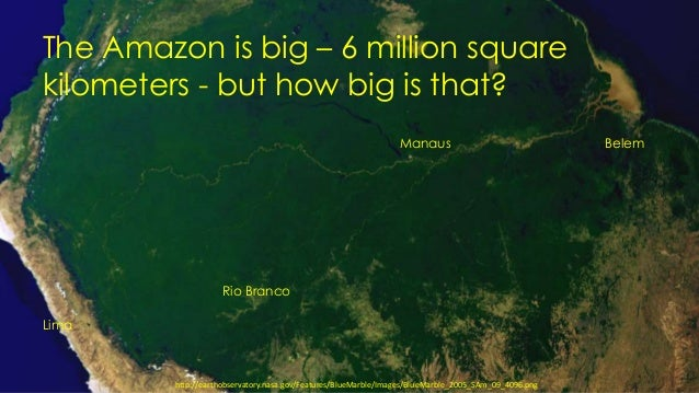 """Foster Brown, """"Maintaining Forest Cover and Biodiversity in Amazonia"""" Slide 2"""